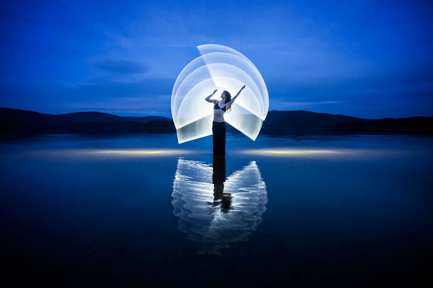 Gorgeous Light Painting Created By Eric Pare And Kim (23)