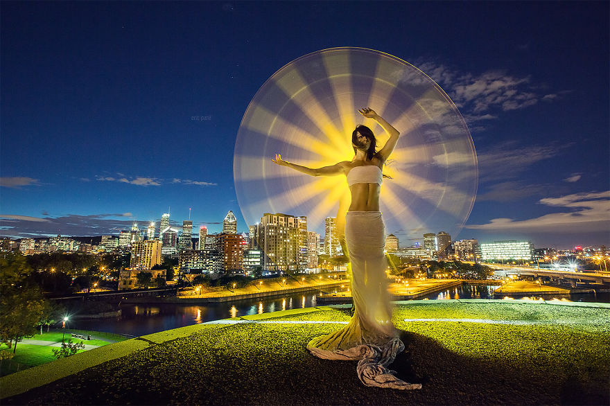 Gorgeous Light Painting Created By Eric Pare And Kim (4)