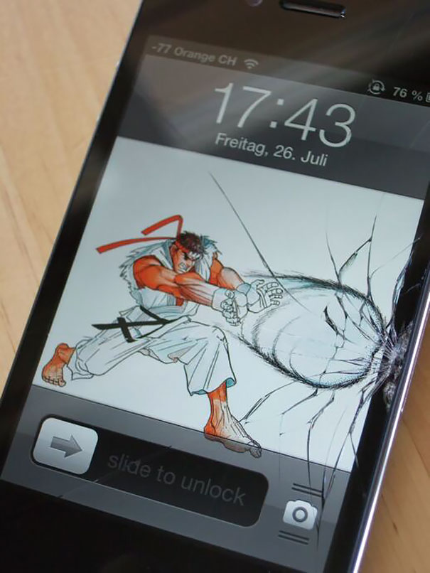 Cracked Phone Screen Funny Solution Wallpapers (28)