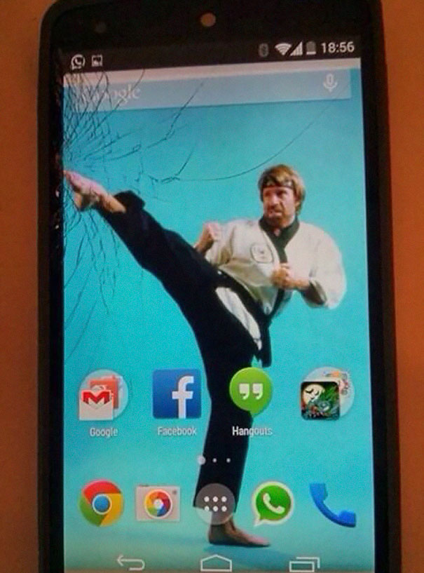 Cracked Phone Screen Funny Solution Wallpapers (31)