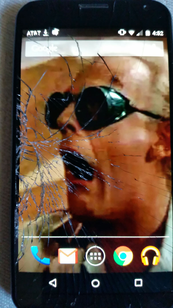 Cracked Phone Screen Funny Solution Wallpapers 38