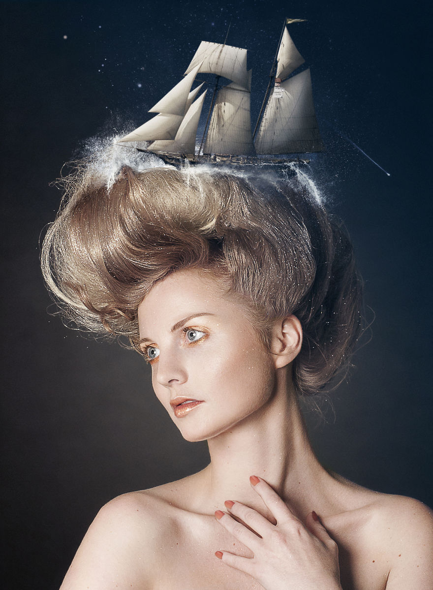 Portray People's Dream And Thoughts In Surreal Photography (2)