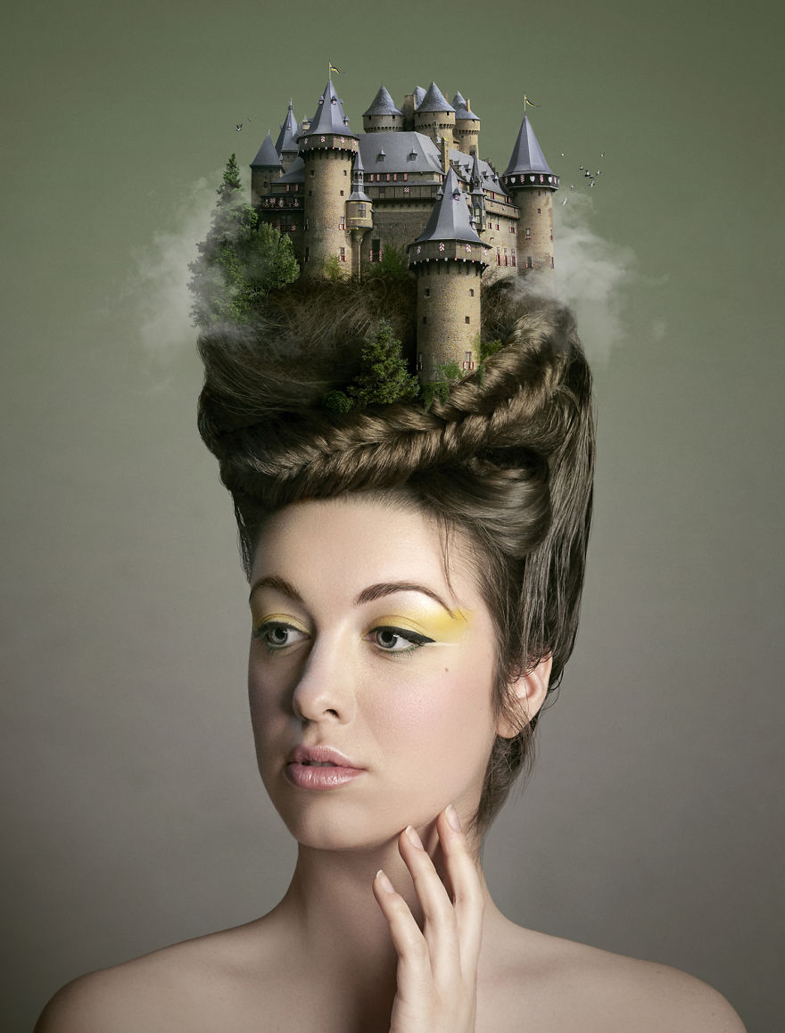 Portray People's Dream And Thoughts In Surreal Photography (3)