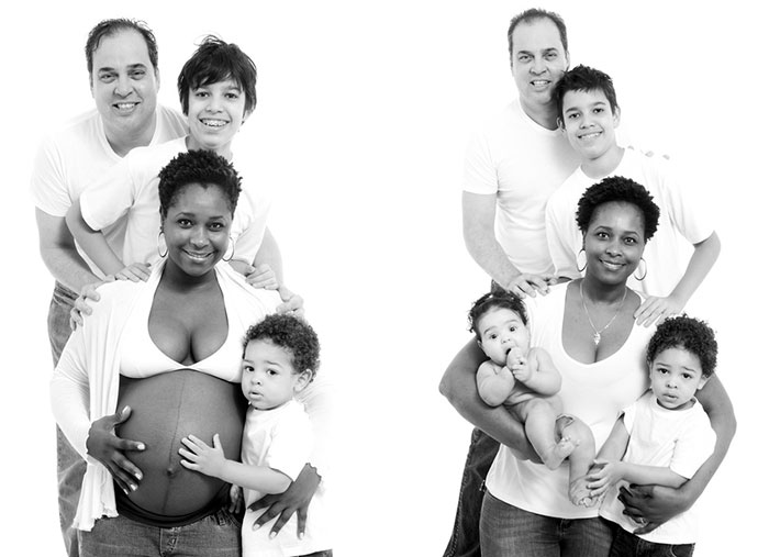 Pregnancy Photography Before And After Baby Photoshoot (12)