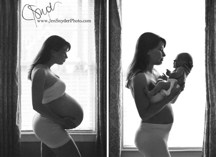 Pregnancy Photography Before And After Baby Photoshoot (25)