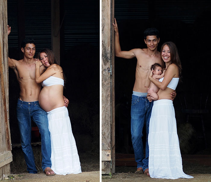 Pregnancy Photography Before And After Baby Photoshoot (28)