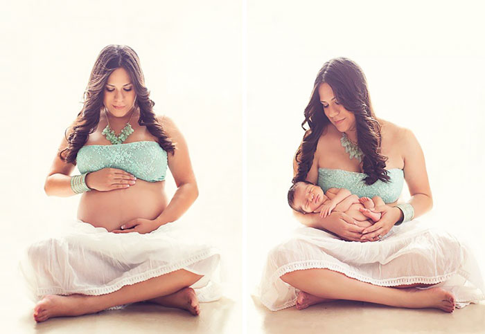 Pregnancy Photography Before And After Baby Photoshoot (36)
