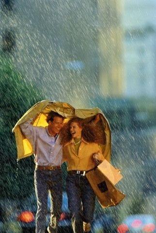 Pretty Girls Images In Rain (5)