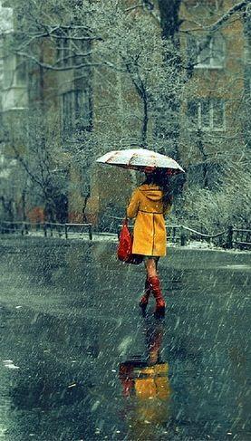 Pretty Girls Images In Rain (9)