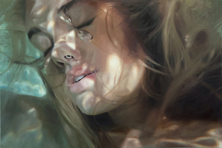 Realistic Underwater Paintings By Reisha Perlmutter (3)