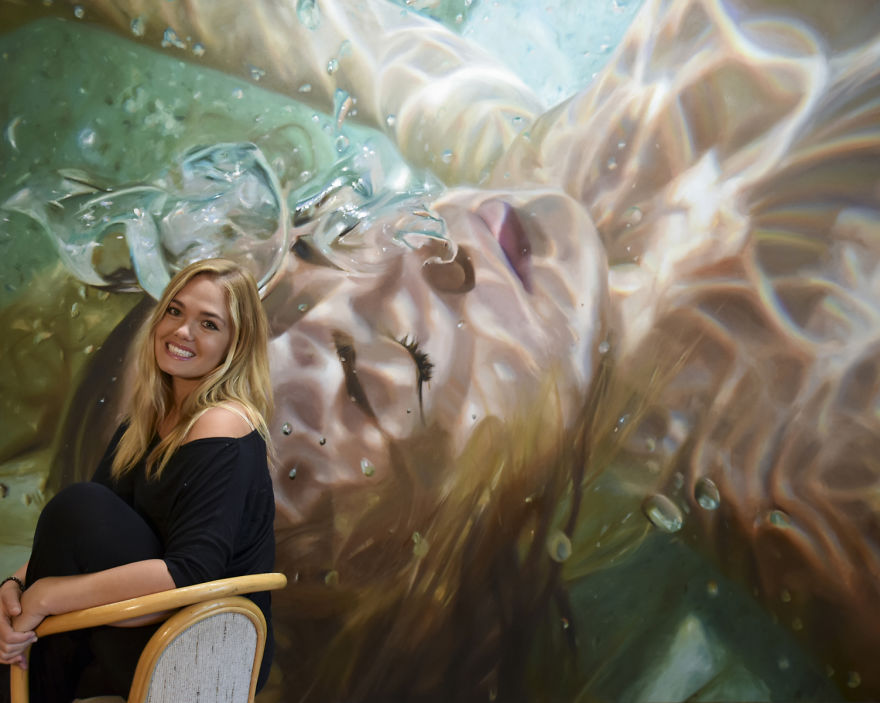 Realistic Underwater Paintings By Reisha Perlmutter (4)