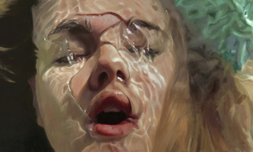 Realistic Underwater Paintings By Reisha Perlmutter (8)