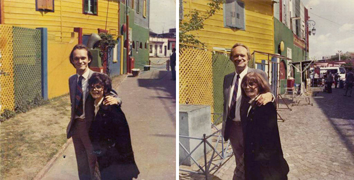 True Love Couples Recreating Their Old Photos (10)