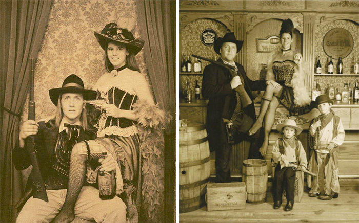 True Love Couples Recreating Their Old Photos (11)