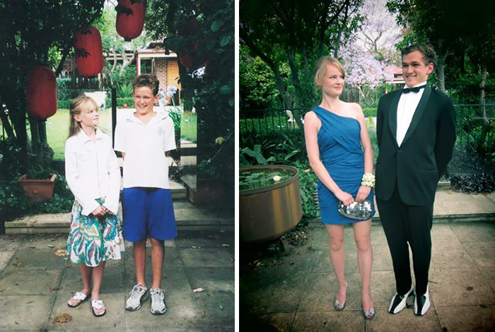 True Love Couples Recreating Their Old Photos (19)
