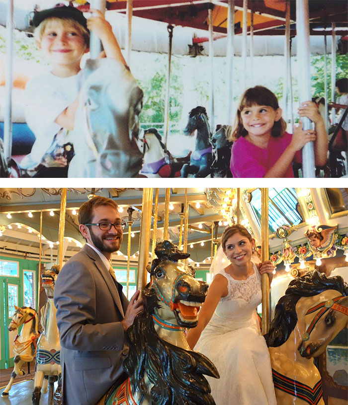 True Love Couples Recreating Their Old Photos (2)