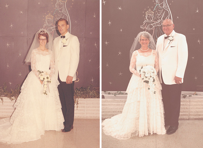True Love Couples Recreating Their Old Photos (22)