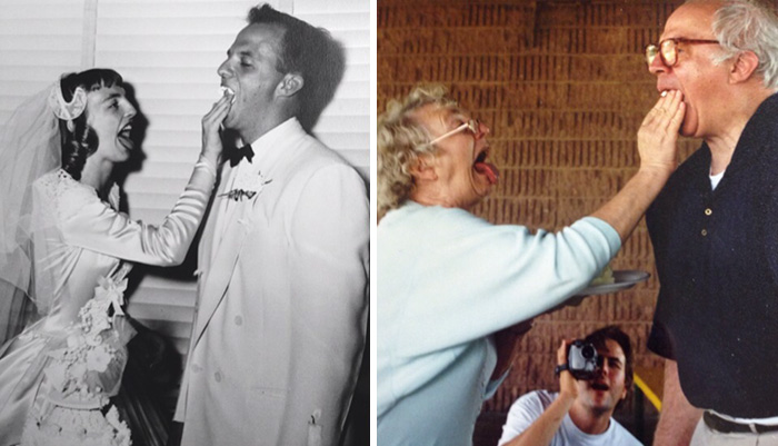 True Love Couples Recreating Their Old Photos (23)