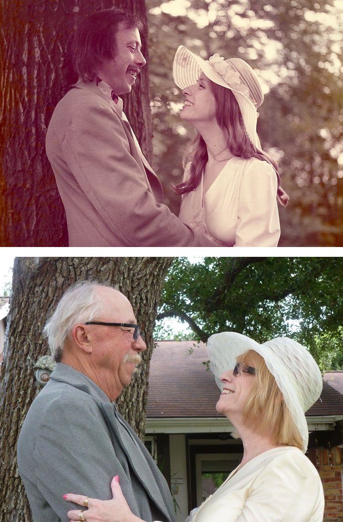 True Love Couples Recreating Their Old Photos (3)
