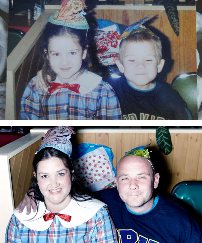 True Love Couples Recreating Their Old Photos (6)