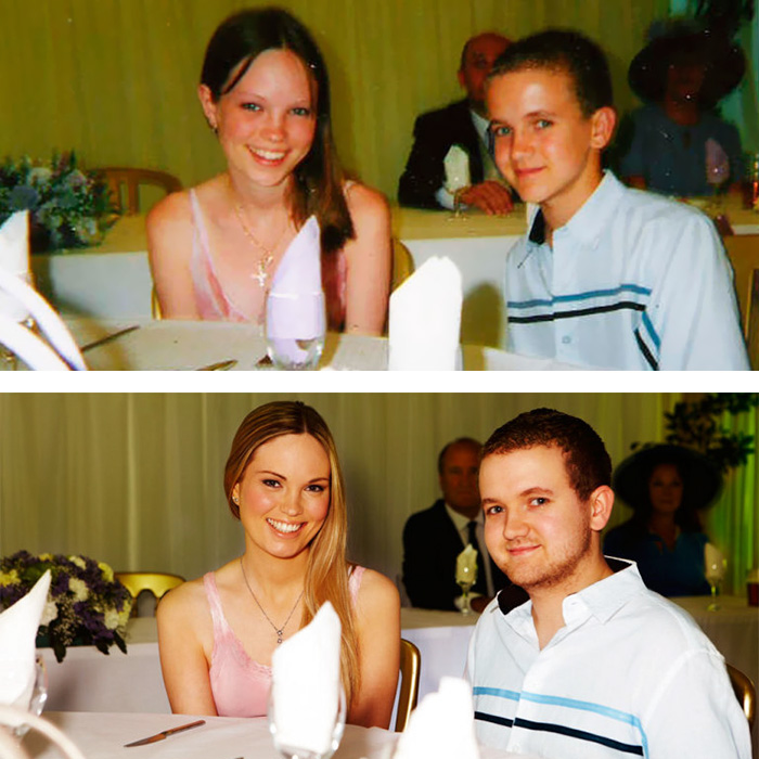 True Love Couples Recreating Their Old Photos (7)