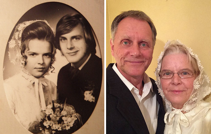 True Love Couples Recreating Their Old Photos (8)