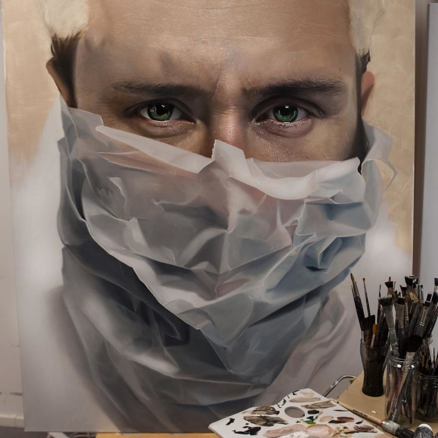 Unbelievable Realistic Paintings By Mike Dargas (1)