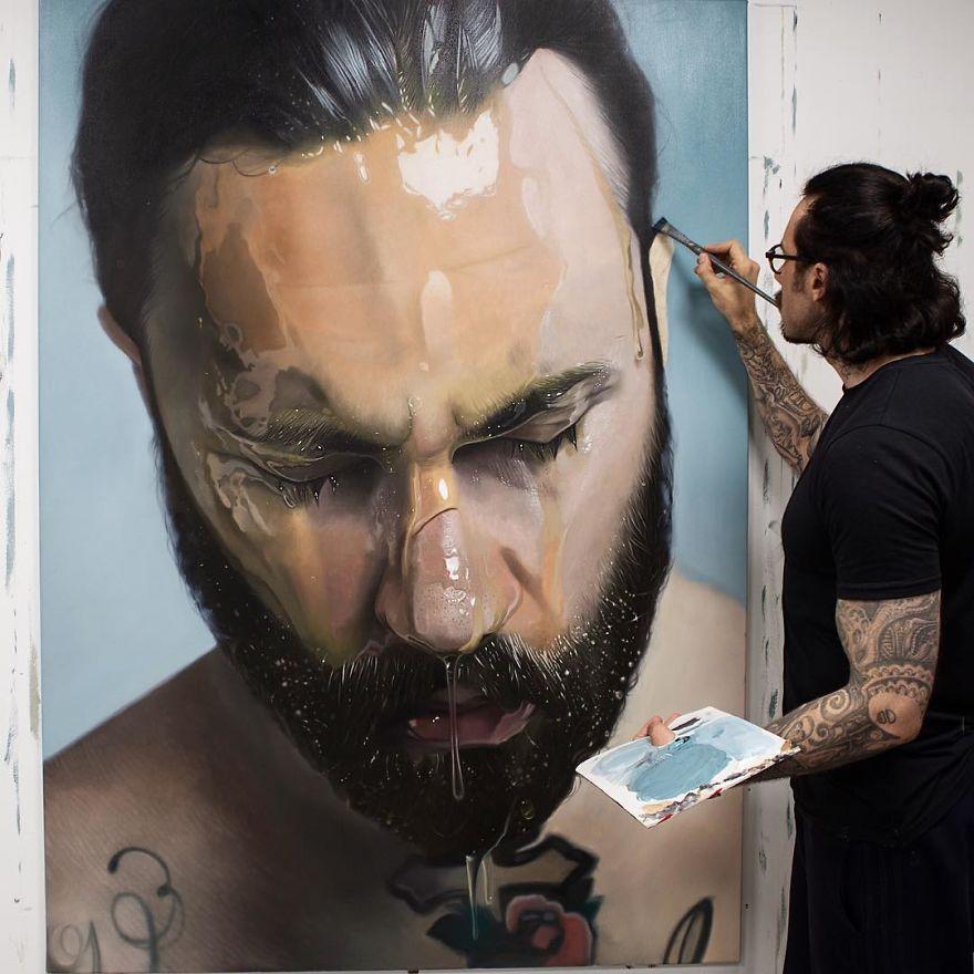 Невероятно Реалистичные Картины От Mike Dargas (11)