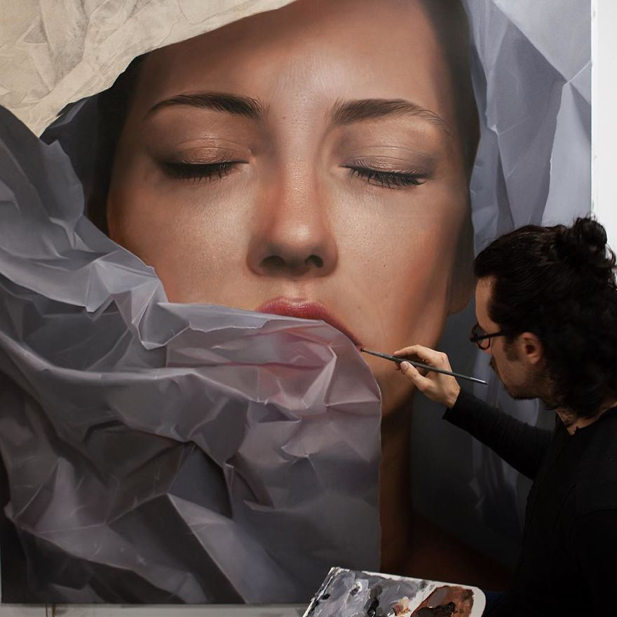 Unbelievable Realistic Paintings By Mike Dargas (12)