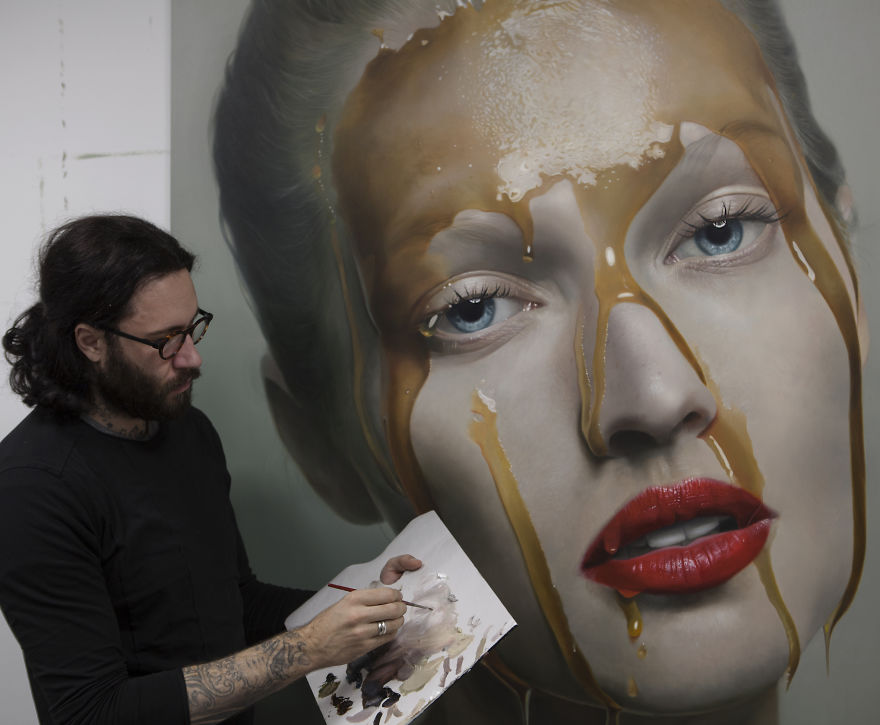 Unbelievable Realistic Paintings By Mike Dargas (2)