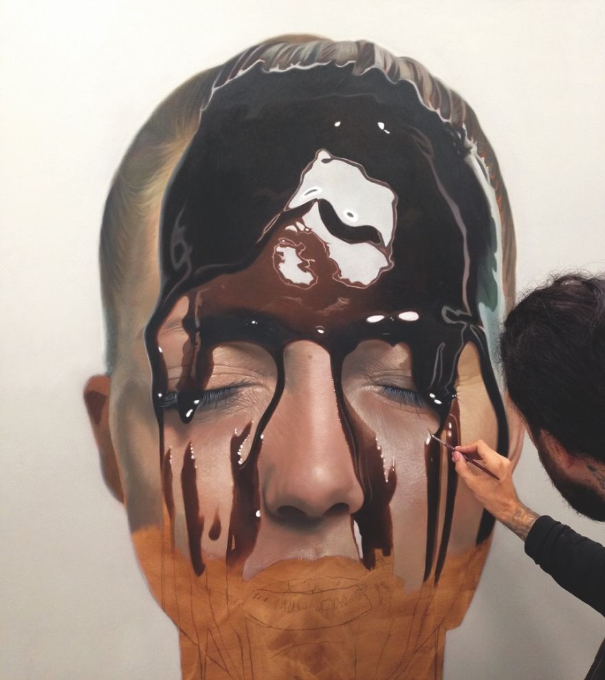 Unbelievable Realistic Paintings By Mike Dargas (3)