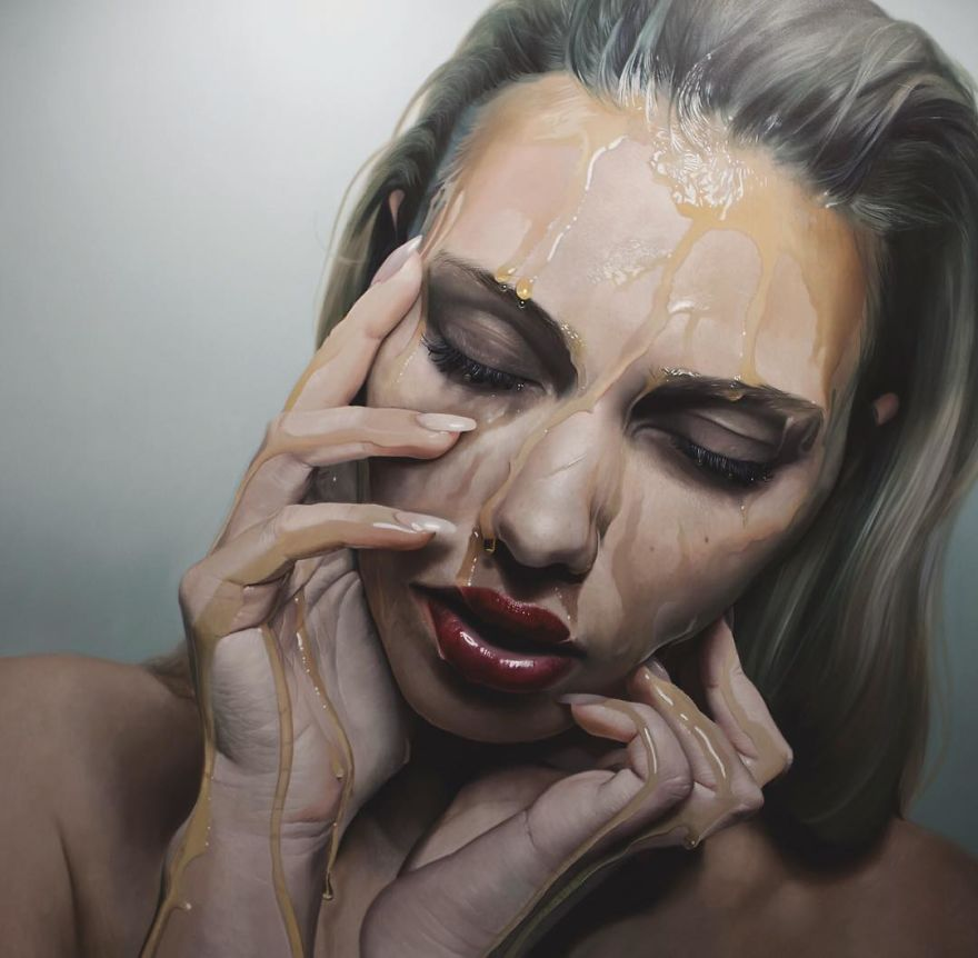 Unbelievable Realistic Paintings By Mike Dargas (7)