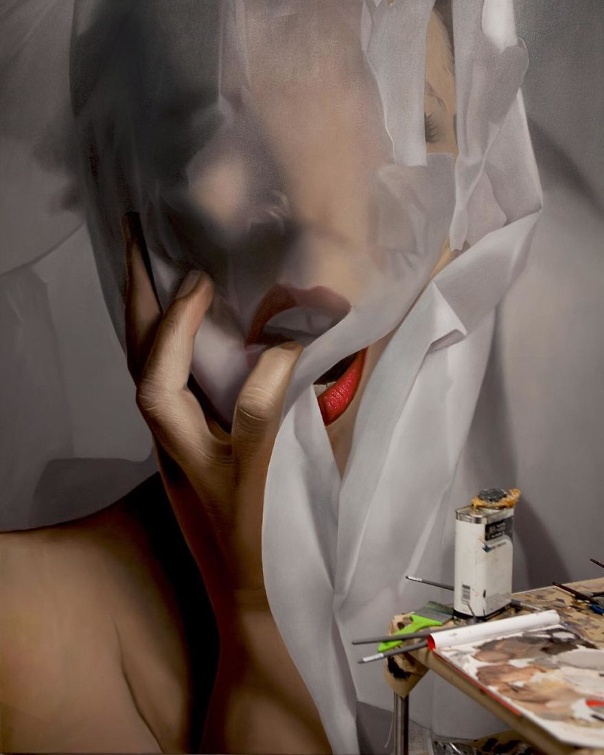 Unbelievable Realistic Paintings By Mike Dargas (8)