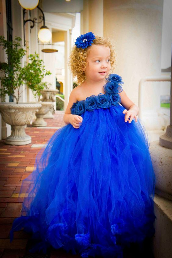 30+ Cute And Beautiful Flower Dress Baby Photos | Great Inspire