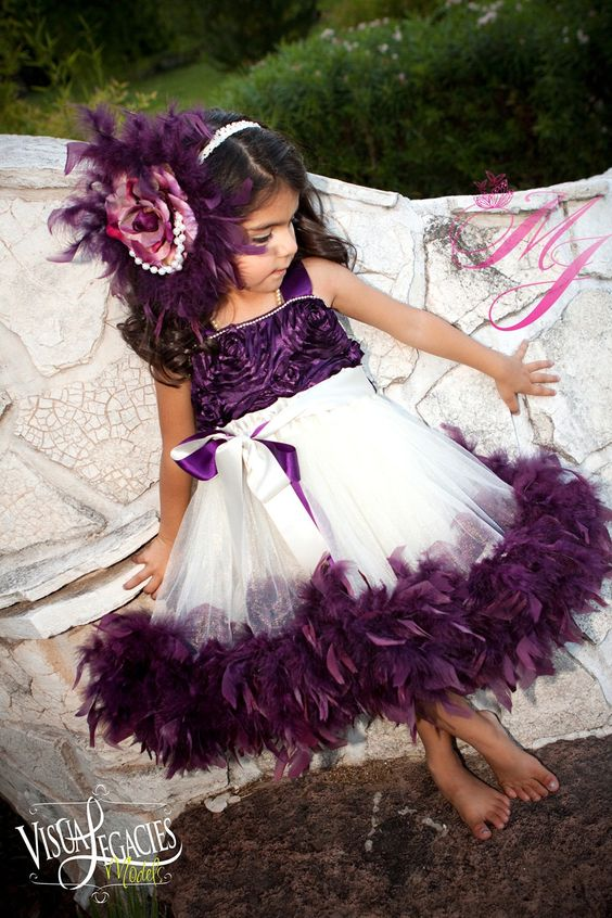 30+ Cute And Beautiful Flower Dress Baby Photos (22)