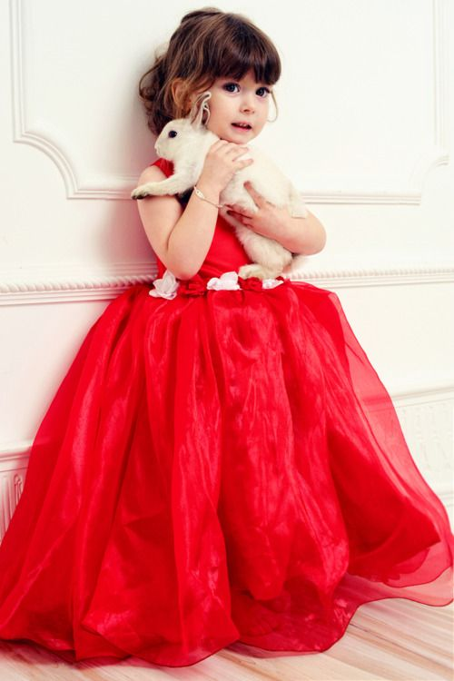30+ Cute And Beautiful Flower Dress Baby Photos (27)