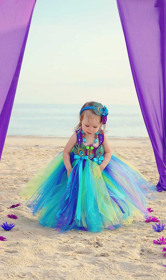 30+ Cute And Beautiful Flower Dress Baby Photos (32)