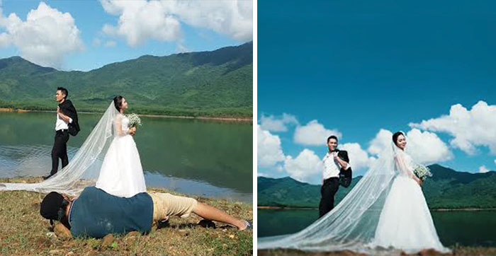 Amazing Photographs That Prove Wedding Photographer Are Crazy (1)