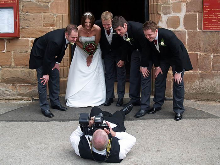Amazing Photographs That Prove Wedding Photographer Are Crazy (14)