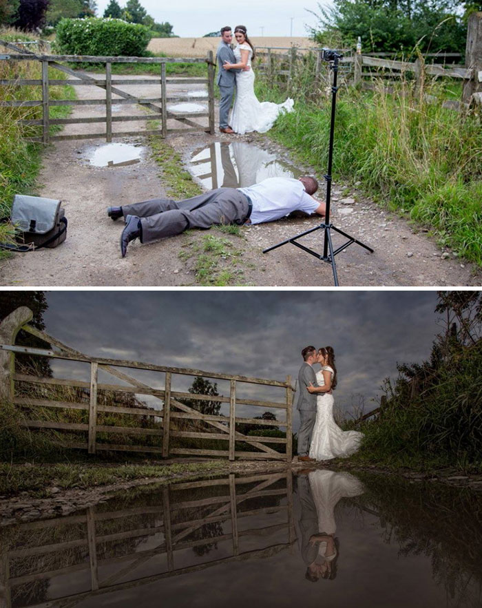 Amazing Photographs That Prove Wedding Photographer Are Crazy (15)