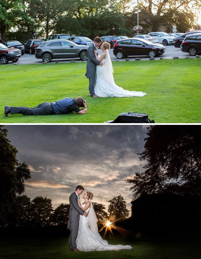 Amazing Photographs That Prove Wedding Photographer Are Crazy (16)