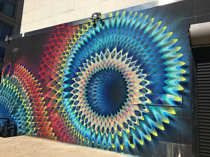 Beautiful Kaleidoscopic Street Art By Douglas Hoekzema (11)
