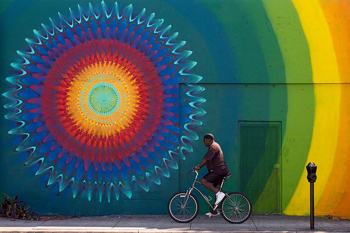 Beautiful Kaleidoscopic Street Art By Douglas Hoekzema (13)