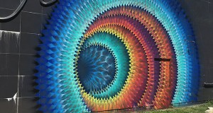 Beautiful Kaleidoscopic Street Art By Douglas Hoekzema (4)