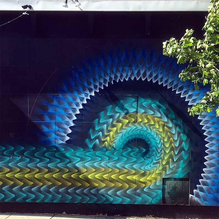 Beautiful Kaleidoscopic Street Art By Douglas Hoekzema (9)