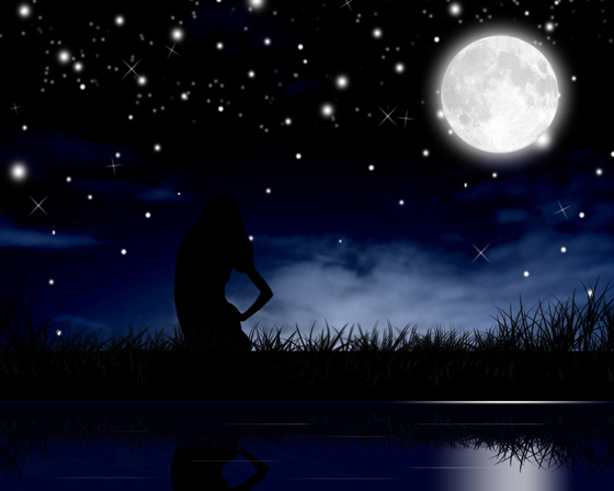 Beautiful Romantic Moonlight Wallpapers (17)