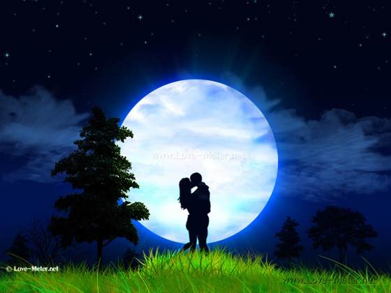 Beautiful Romantic Moonlight Wallpapers (2)