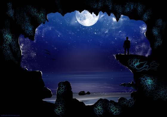 Beautiful Romantic Moonlight Wallpapers (21)