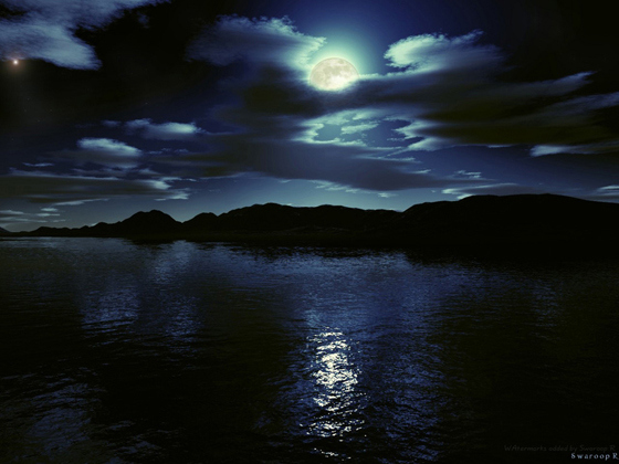 Beautiful Romantic Moonlight Wallpapers (28)