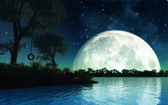 Beautiful Romantic Moonlight Wallpapers 32